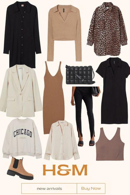 H&M's New Arrivals 🖤  #LTKshoecrush #LTKunder50 #LTKstyletip