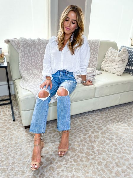 Jeans size 24 short top size Xs   #LTKunder100 #LTKunder50 #LTKsalealert
