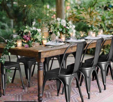 Romantic outdoor dining   #LTKSeasonal #LTKhome #LTKsalealert