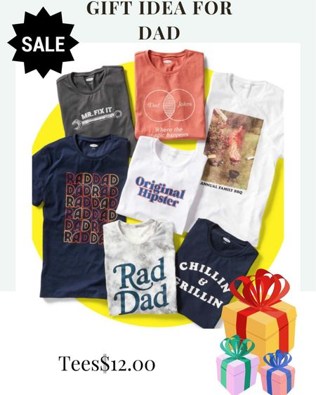 Father's Day Gift Idea $12.00 tees… Sale sale sale . What dad doesn't need a new tee? . .  Shop my daily looks by following me on the LIKEtoKNOW.it shopping app Download the LIKEtoKNOW.it shopping app to shop this pic via screenshot http://liketk.it/3g5ur #liketkit  #dadgift #fathersday #giftideasfordad #salealert #greatgiftsfordad  @liketoknow.it #LTKsalealert #LTKfamily #LTKmens