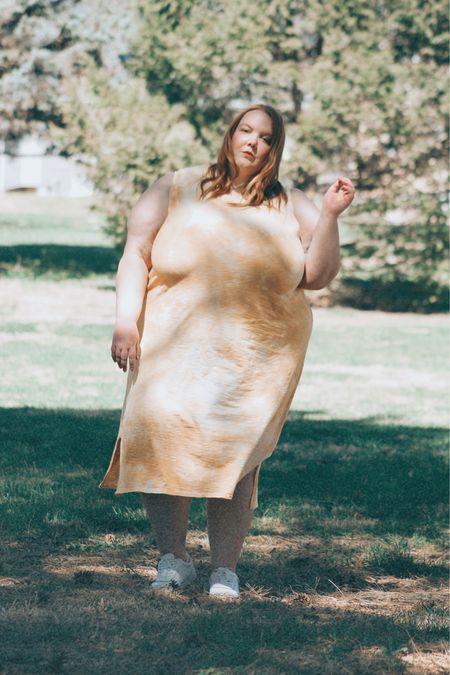 Plus size tie dye summer dress   #LTKcurves #LTKSpringSale #LTKunder50