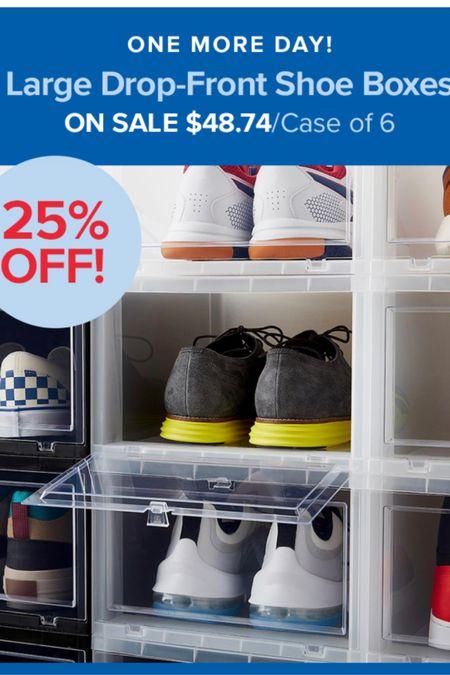 Perfect for your master bedroom closet to organize shoes! 25% off!  #LTKhome #LTKunder50 #LTKsalealert
