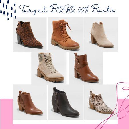 Target BOGO 50% boots! @liketoknow.it #liketkit http://liketk.it/2YTVh