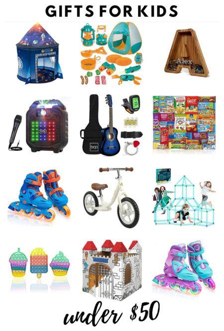 Gifts for kids under $50  #LTKkids #LTKGiftGuide #LTKHoliday