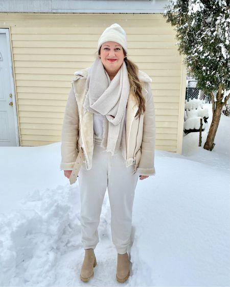 Winter hats | winter headbands | winter coats | faux shearling coat | long puffer coat | teddy coat | gloves | winter outfits @liketoknow.it #liketkit #LTKSeasonal #StayHomeWithLTK #LTKstyletip http://liketk.it/37jor