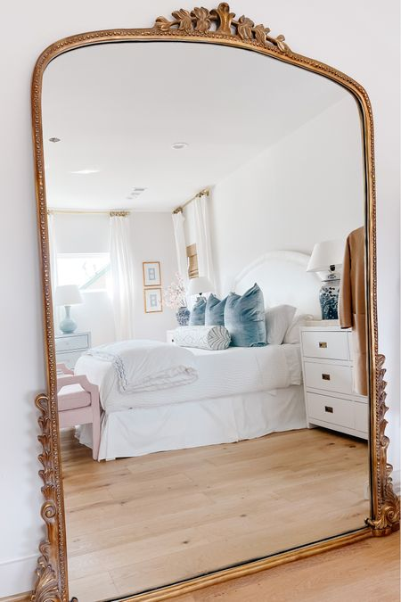 This gleaming primrose mirror has been such a great investment! It now comes in a Christmas ornament and it's so cute!     #LTKhome