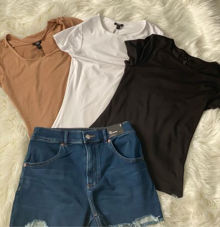 Picked up a few closet staples from Express.