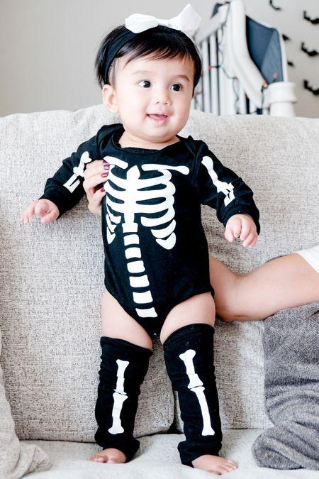 http://liketk.it/2ZhN8 #liketkit #LTKbaby @liketoknow.it #LTKHALLOWEEN #halloween #halloweenpajamas #infants