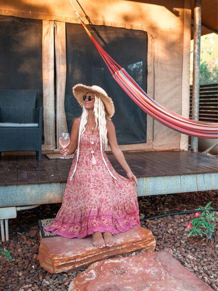 Glamping style 🌺✨🍸  #LTKtravel #LTKaustralia #LTKstyletip