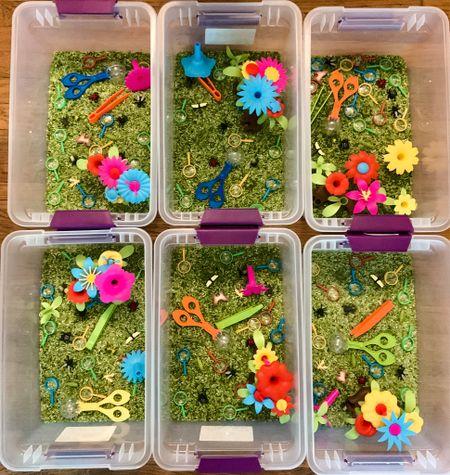 Garden Sensory Bin!  #LTKkids #LTKfamily #LTKbaby