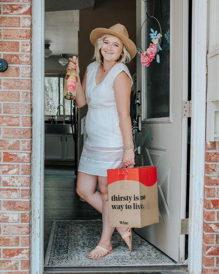 Tan dress, Amazon hat, summer style, summer dress, target finds, boho rug, boho, summer hat, tan sandals.   http://liketk.it/2RoHM #liketkit #LTKhome #LTKshoecrush #LTKstyletip @liketoknow.it @liketoknow.it.home