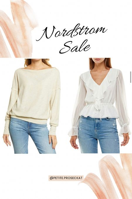 Get fall ready with a top of cute tops from the NSale!   #LTKsalealert #LTKunder50 #LTKunder100