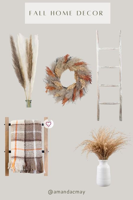 I can't believe it's already august!! You know what that means... fall decor!! Linking all my favorite home finds from Kirklands. I love the pampas stems and the blanket ladder. So perfect for fall!!!  #LTKhome #LTKunder50 #LTKunder100