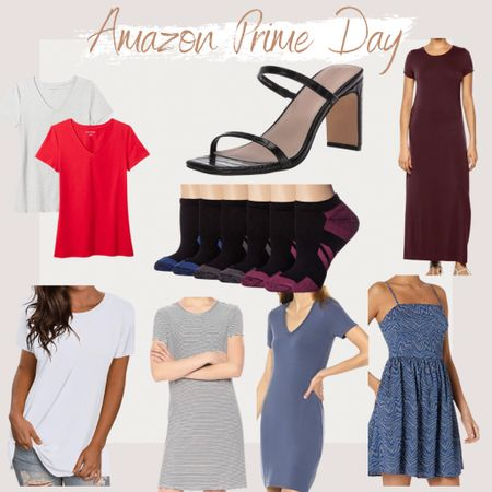 http://liketk.it/3i1QB #liketkit @liketoknow.it #LTKsalealert Amazon Prime Day, Prime Day 2021, Amazon Fashion, Found it On Amazon, Amazon, Amazon Finds, Summer Styles, Summer Outfit, Casual Outfit, Cute styles, effortless styles, trendy styles, two strap heels, tee-shirt dress, t-shirt dress, basic t shirts, lounge styles, vacation outfits, maxi dress, look for less, summer dress, ankle/low cut socks, stripe dress, mini dress, crew neck tee, classic shirt sleeve shirt
