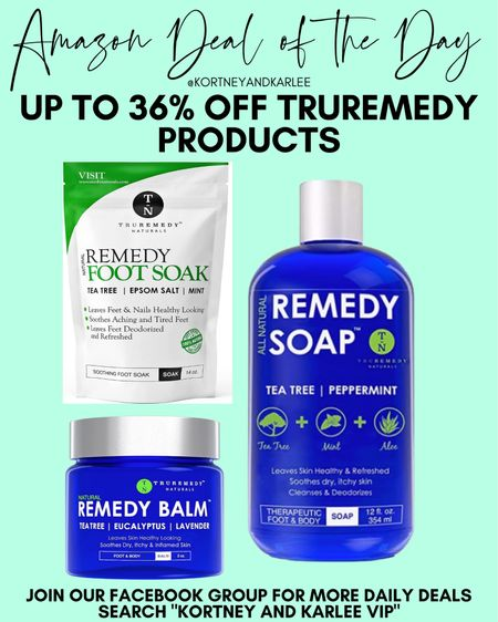 Amazon Daily Deal!! Up to 36% off Truremedy products  Amazon daily deal   amazon deal of the day   amazon deal   amazon beauty   amazon finds   amazon favorites   amazon lightening deal   Kortney and Karlee   #kortneyandkarlee #LTKunder50 #LTKunder100 #LTKsalealert #LTKstyletip #LTKSeasonal #LTKhome @liketoknow.it #liketkit