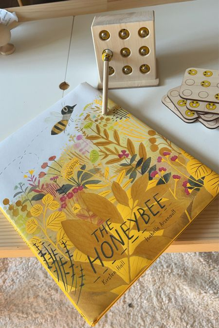 Kids Bee Toy and Book
