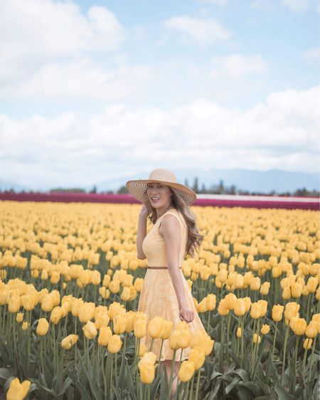 Take me where the sun shines and the flowers bloom 💐 Happy Easter 💛 . . . . .  http://liketk.it/3c510 #liketkit #LTKstyletip #LTKbeauty #LTKunder50 @liketoknow.it Shop my daily looks by following me on the LIKEtoKNOW.it shopping app