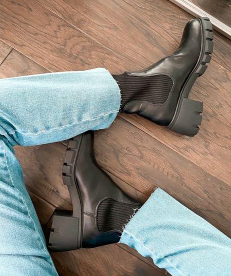 Platform Ankle Boots, Fall Boots, Fall Finds,     http://liketk.it/3oezr @liketoknow.it #liketkit  #LTKSeasonal #LTKshoecrush