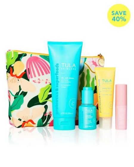 Trying out Tula for the first time with their 40% off summer kit! Now that I'm 35,my skincare routine is becoming a lot more important. Summer glow & protection all in one!   http://liketk.it/3g8SE #liketkit @liketoknow.it   #LTKbeauty #LTKsalealert #LTKunder100