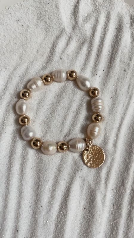 Stylin by Aylin collection, 14k gold filled jewelry, hammered coin, fresh water Pearl, gift ideas , StylinByAylin   #LTKstyletip #LTKSeasonal #LTKGiftGuide
