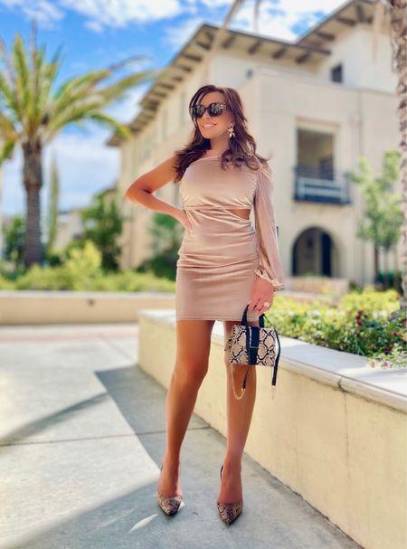 Cutout Dresses - such fun for fall   #fall #guest #cutout #dress #velvet #bodycon #fitted #cutoutdress #mini     #LTKwedding #LTKSeasonal #LTKGiftGuide
