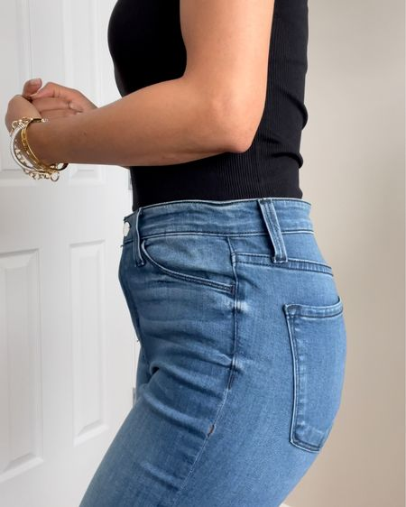 Hate that gap between your waist and your jeans? We can fix that! Here's how! http://liketk.it/3dqNp #liketkit @liketoknow.it #LTKunder100 #LTKunder50 #LTKstyletip