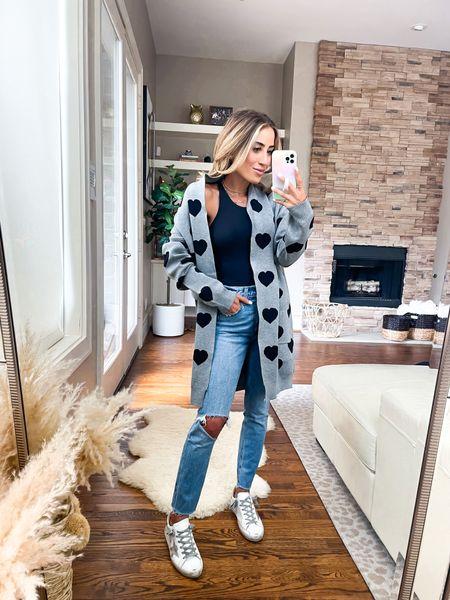 Cardigan smallest size use code alexis04 , jeans size 24 short   #LTKunder50 #LTKunder100 #LTKsalealert