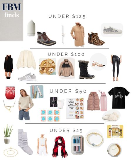Gifts for her, under $100, under $50, $25 http://liketk.it/32FZ5 #liketkit @liketoknow.it #LTKgiftspo #LTKunder50 #LTKunder100