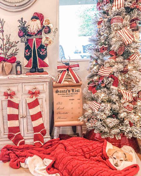 http://liketk.it/2Hm5r  Christmas Decor    Flocked Pencil Tree Knit Stockings Scroll Sign  #liketkit #LTKholidayathome #LTKhome #LTKholidaystyle @liketoknow.it @liketoknow.it.home