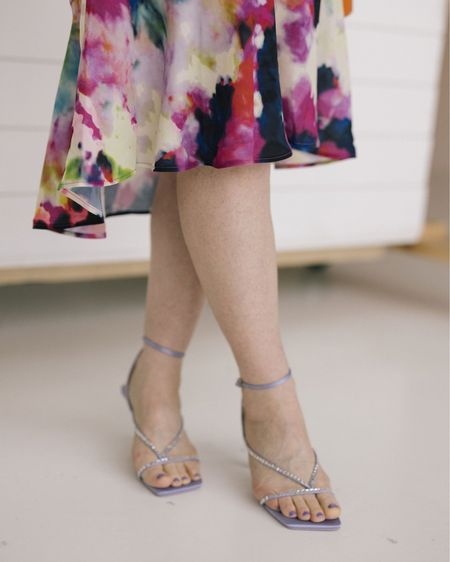 #dress to impress with the tie dye trend and amp up the style with a pop of color straps shoe. http://liketk.it/3dnXJ #liketkit @liketoknow.it #LTKshoecrush #LTKstyletip #LTKbeauty Shop your screenshot of this pic with the LIKEtoKNOW.it shopping app