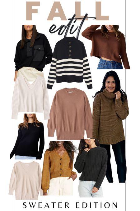 Fall style / fall edit / fall sweater / fall trends / sweater weather    #LTKSeasonal #LTKunder100 #LTKstyletip