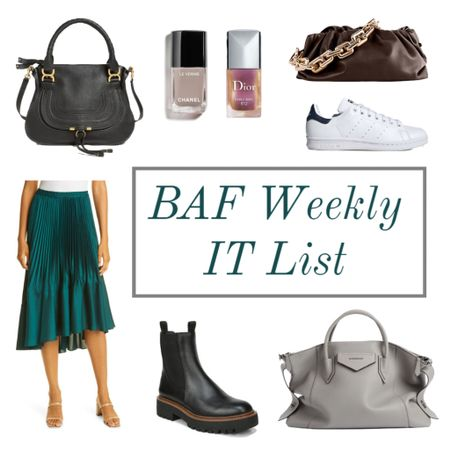 The BAF weekly IT list is here! 💃🏻 head over to the blog for details or shop what's hot here ❤️  #LTKshoecrush #LTKstyletip #LTKitbag
