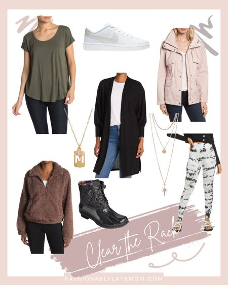 Clear the rack is on! Find great fall styles at amazing prices! #ltkunder50 #fallfashion