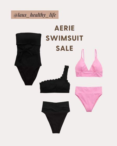 Aerie is having a sale on some of their swimsuits! I got a M in everything! http://liketk.it/3eJwS #liketkit @liketoknow.it #LTKswim #LTKunder50 #LTKsalealert