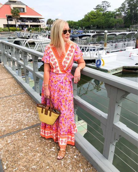 This maxi dress was a top seller for May and one of your favorite looks altogether. 💗 Wearing size S. I found a short version that I'll link as well as the rest of the Top 10 Most Popular Items for May. Use the link in my profile to shop the Blog post or follow me in the @liketoknow.it app. http://liketk.it/3gO1W #liketkit #LTKtravel #LTKunder50
