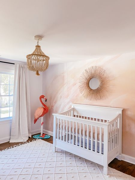 Nursery, girl nursery, wallpaper,   #LTKhome #LTKkids #LTKbaby