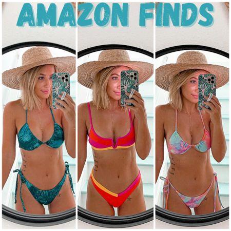 Amazon swimsuits bikini under $25. Wearing size small   http://liketk.it/3hQgn #liketkit @liketoknow.it #LTKunder50 #LTKsalealert #LTKswim #amazonfinds #laurabeverlin