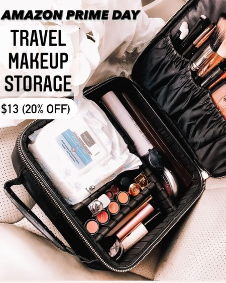 Amazon prime day sale  Travel makeup storage organizer   @liketoknow.it http://liketk.it/3icRx #liketkit #LTKbeauty #LTKsalealert #LTKunder50