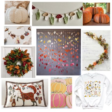 Colorful fall picks- so cheerful!   #LTKhome #LTKSeasonal #LTKbacktoschool