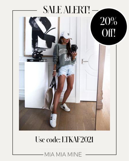LTK Day Sale picks Abercombie sale - take 20% off with code LTKAF2021  Abercombie sweatshirt on sale Wearing an XS   #LTKsalealert #LTKDay #LTKunder100