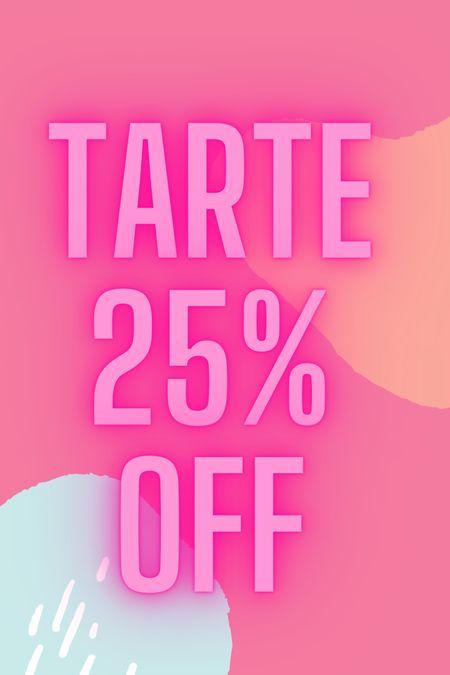 Tarte cosmetics 25% off LTKDAY   #LTKbeauty #LTKsalealert #LTKDay