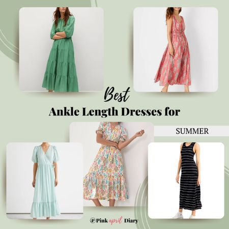 Checkout some awesome ankle length dresses that are timeless and way more flattering than maxi or midi dresses! http://liketk.it/3gNAR #liketkit @liketoknow.it #LTKstyletip