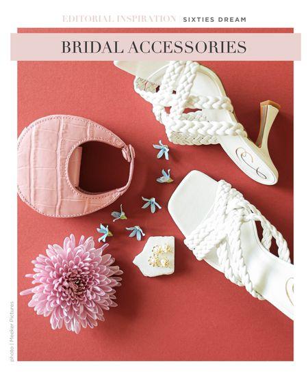 Mini bags, laid back shoes and darling drop earrings!   #LTKshoecrush #LTKwedding #LTKstyletip