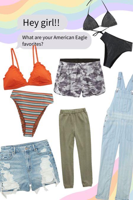 This months American Eagle order 👏🏻 http://liketk.it/3jymM #liketkit @liketoknow.it #LTKswim #LTKfit