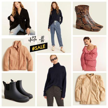 40% off sale. Use code GOBIG J.Crew favorites   #LTKGiftGuide #LTKsalealert #LTKworkwear