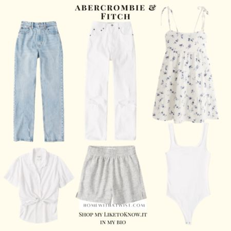 Abercrombie and Fitch is 20% off this weekend with the LTK Day sale! http://liketk.it/3hloI #liketkit @liketoknow.it #LTKDay #LTKworkwear #LTKunder100