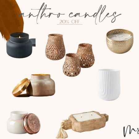 20% off Anthro candles #candles #anthrosale #anthropologie  #LTKsalealert #LTKhome #LTKunder100