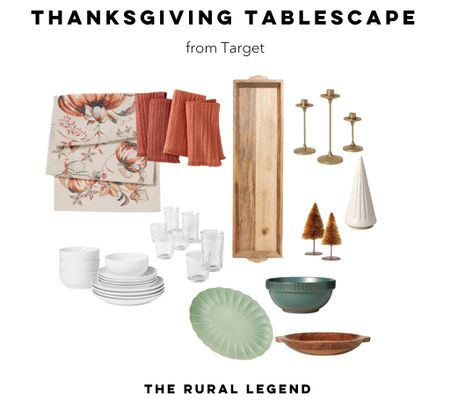Get your table holiday ready with these gorgeous pieces for thanksgiving!  #LTKunder50 #LTKSeasonal #LTKHoliday