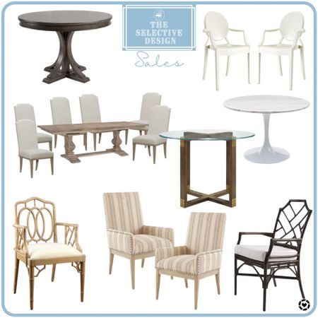 Dining tables and chairs...July 4th sales!  #LTKfamily #LTKsalealert #LTKhome