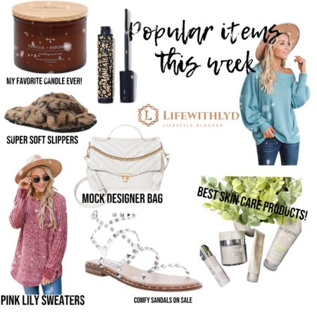 Popular weekly items! Can't forget the awesome skin care line! Want a $10 off? Message me for a discount code!   .  Lyd   @liketoknow.it http://liketk.it/37yuj #liketkit